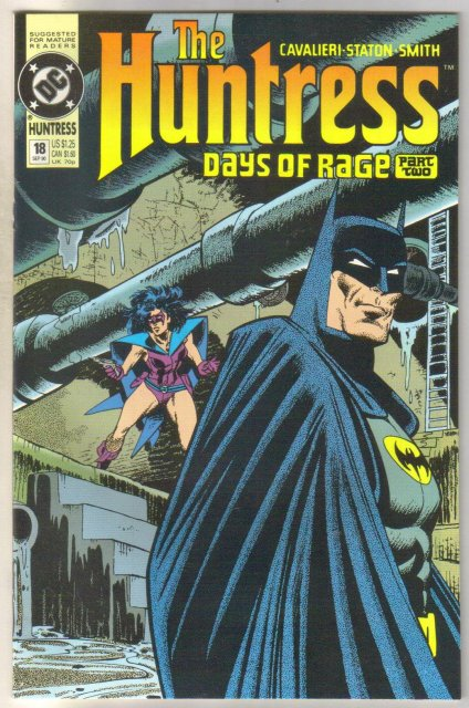 The Huntress #18 comic book near mint 9.4
