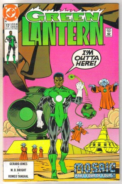 Green Lantern #17 comic book mint 9.8