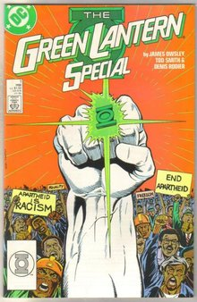 Green Lantern Special #1 comic book mint 9.8