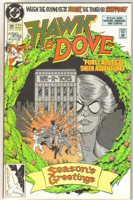 Hawk & Dove #20 comic book mint 9.8