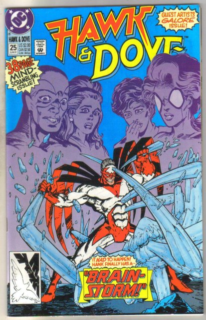 Hawk & Dove #25 comic book mint 9.8