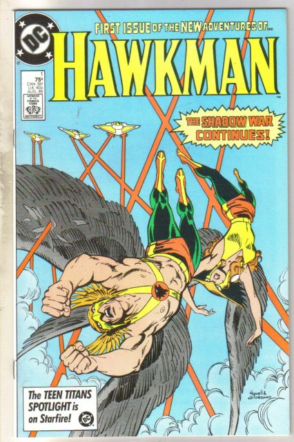 Hawkman #1 comic book mint 9.8
