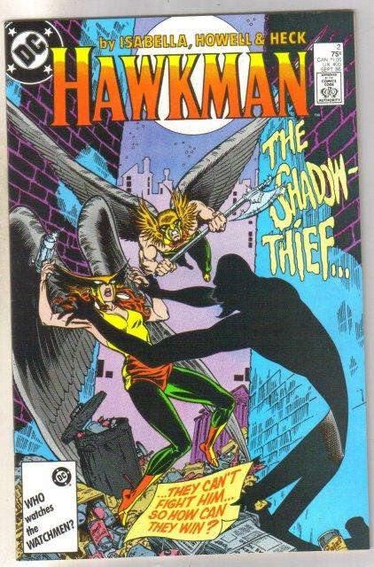 Hawkman #2 comic book mint 9.8