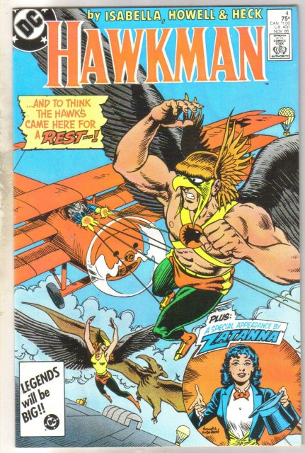 Hawkman #4 comic book mint 9.8