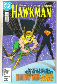 Hawkman #10 comic book mint 9.8