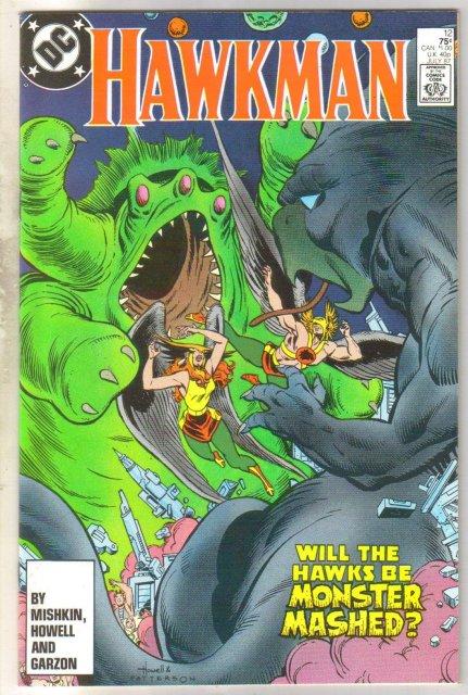 Hawkman #12 comic book mint 9.8
