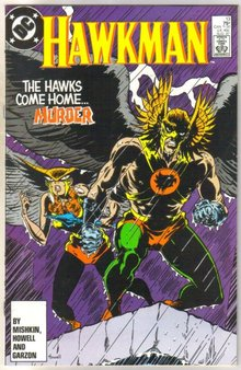 Hawkman #13 comic book mint 9.8