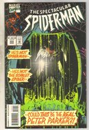 Spectacular Spider-man #222 comic book near mint 9.4