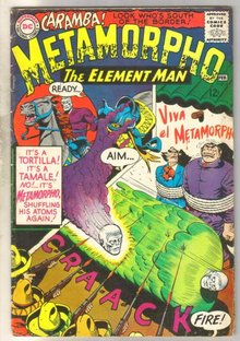 Metamorpho The Element Man #4 comic book fine 6.0