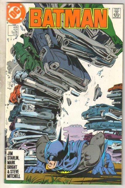Batman #425 comic book near mint 9.4
