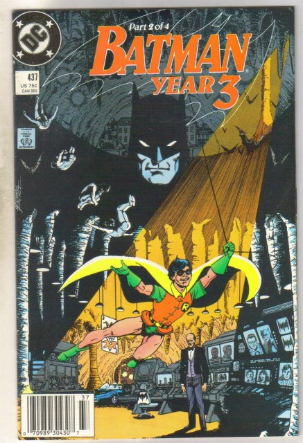 Batman #437 comic book near mint 9.4