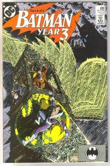 Batman #439 comic book near mint 9.4