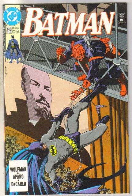 Batman #446 comic book near mint 9.4