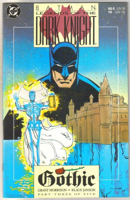 Batman Legends of the Dark Knight #8 comic book near mint 9.4