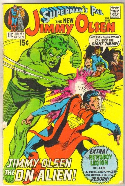Superman's Pal Jimmy Olsen #136 comic book very good 4.0