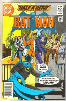 Batman #346 comic book very fine 8.0
