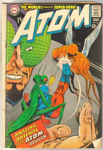 The Atom #33 very good 4.0