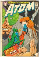 The Atom #33 very good 4.0