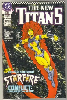 The New Titans Annual #6 comic book mint 9.8