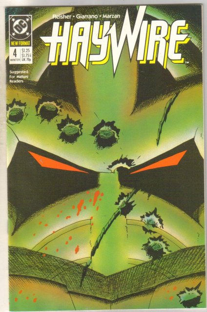 Haywire #4 comic book mint 9.8