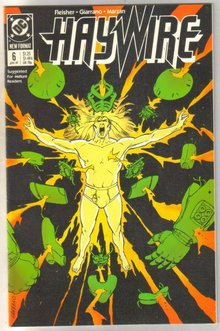 Haywire #6 comic book mint 9.8
