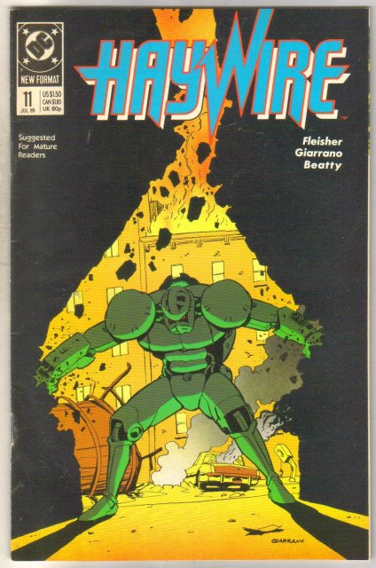 Haywire #11 comic book near mint 9.4