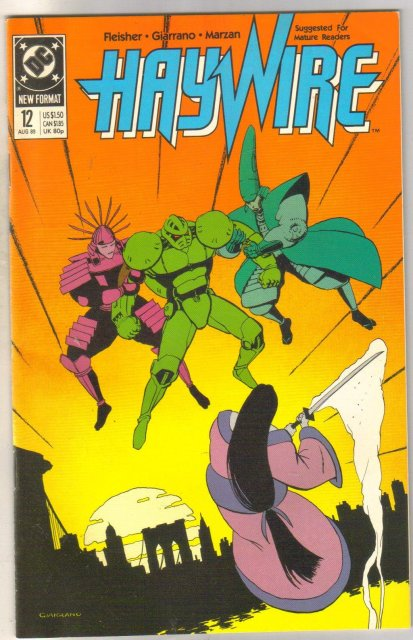 Haywire #12 comic book near mint 9.4