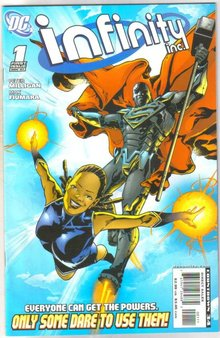 Infinity Inc. #1 comic book near mint 9.4