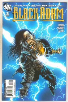 Black Adam #2 comic book near mint 9.4