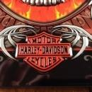 HARLEY DAVIDSON MOTORCYCLES LOYAL ONES METAL HIGHLY EMBOSSED ADVERTISING SIGN