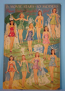 1941 Movie Stars Hollywood Paper Dolls