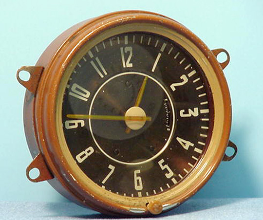 Westclox Car Clock