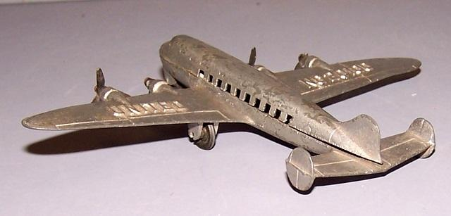 Silver Plane