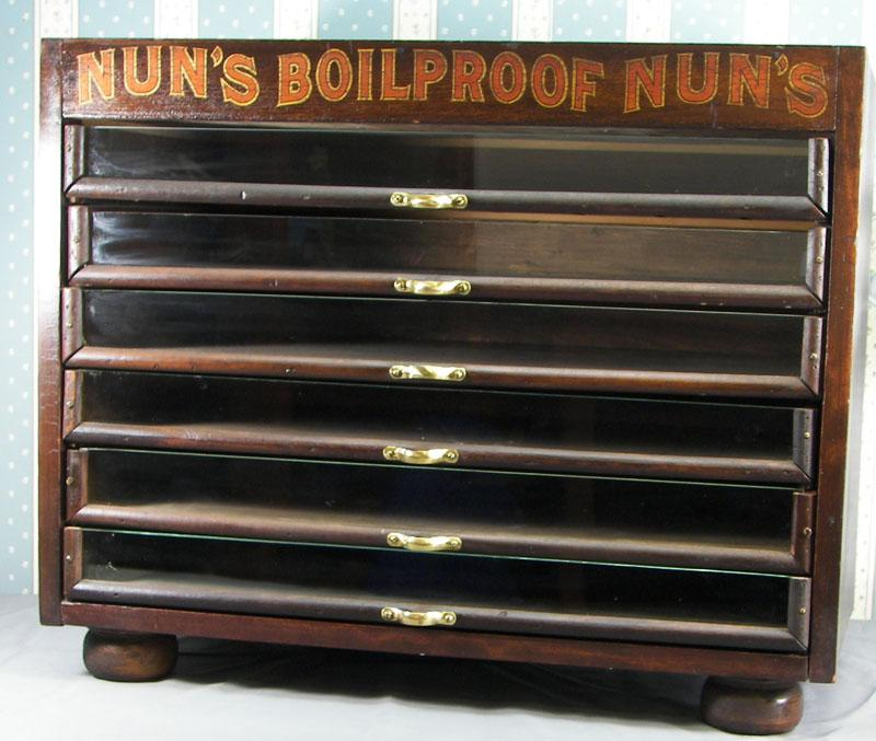 Nun's Boilproof Spool Cabinet