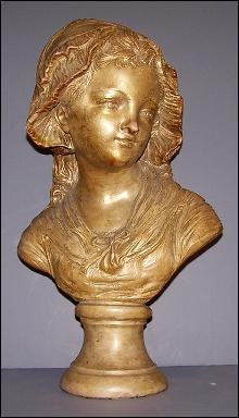 Bust of a Girls Head