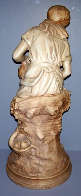 Full Body of a Girl Statue