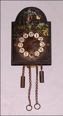 German Miniature Clock (As is)