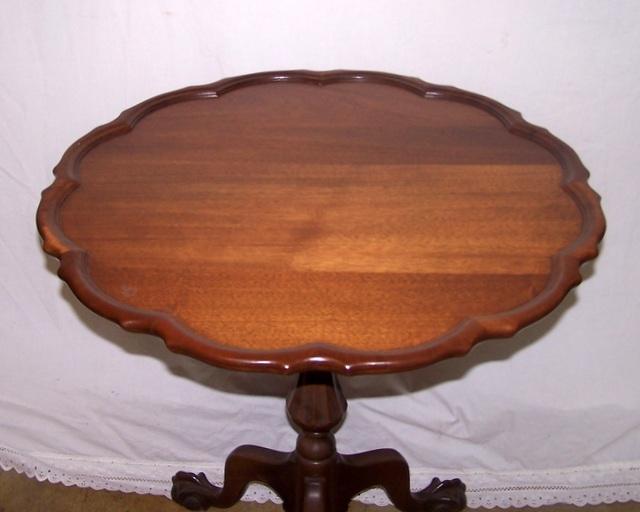 Walnut Tilt Top Table
