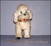 Walking Poodle Battery Operated