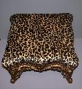 Pierced Iron Foot Stool