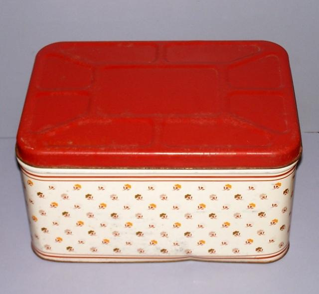 Tin Bread Box