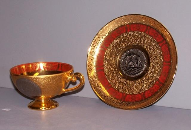 Bohemia Gold Tea Set