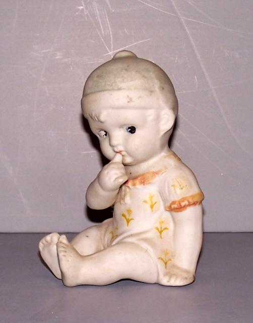 Bisque Doll Figurine