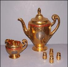 Bohemia Gold Tea Set