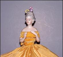 Half doll Lamp