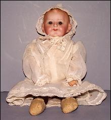 Girl Doll Bisque head & Cloth Body