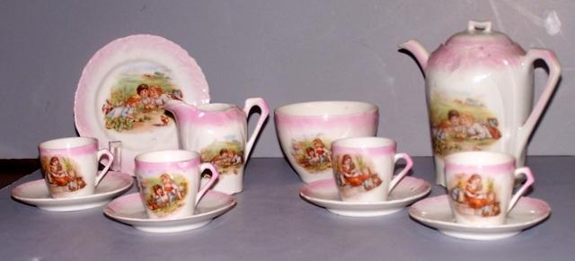 Child's China Tea Set (As is)