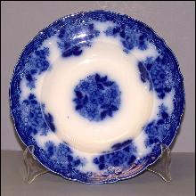 Flow Blue Soup Bowl