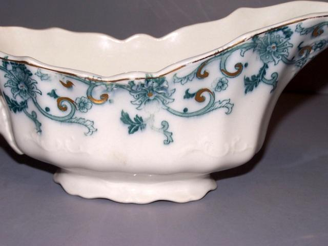 Flow Blue Gravy Bowl