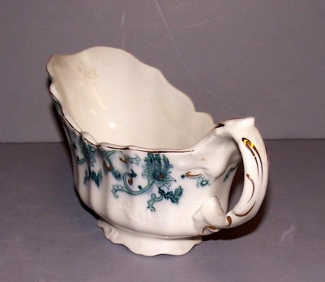 Flow Blue Gravy Bowl